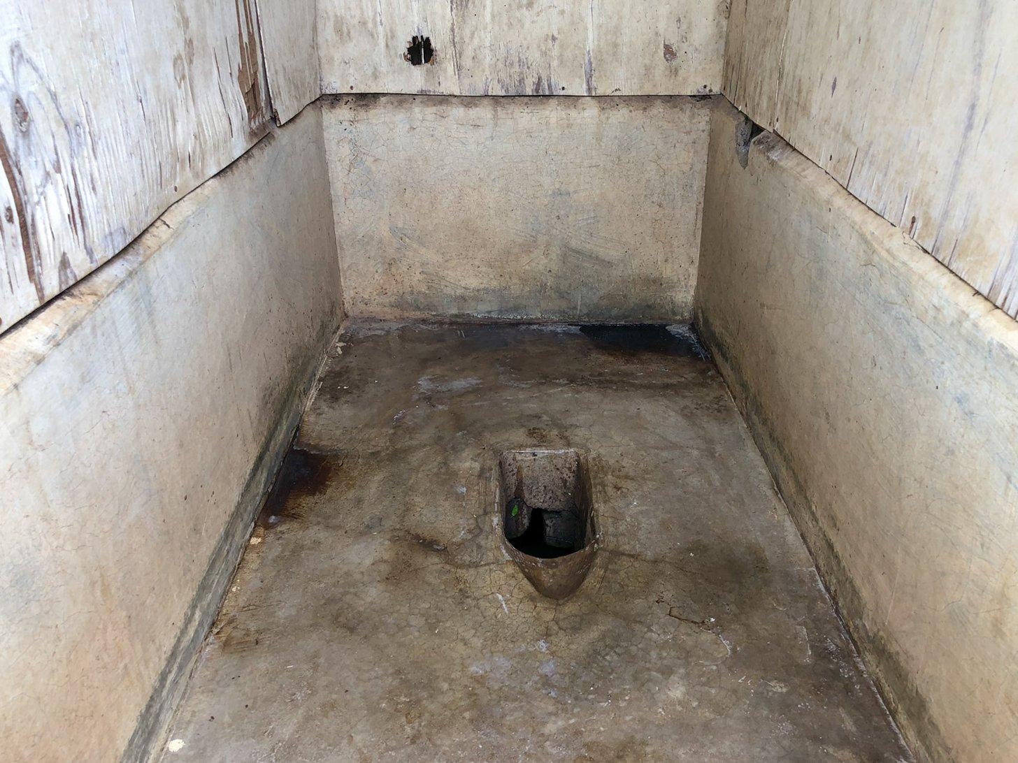 Een openbaar toilet in Kenia