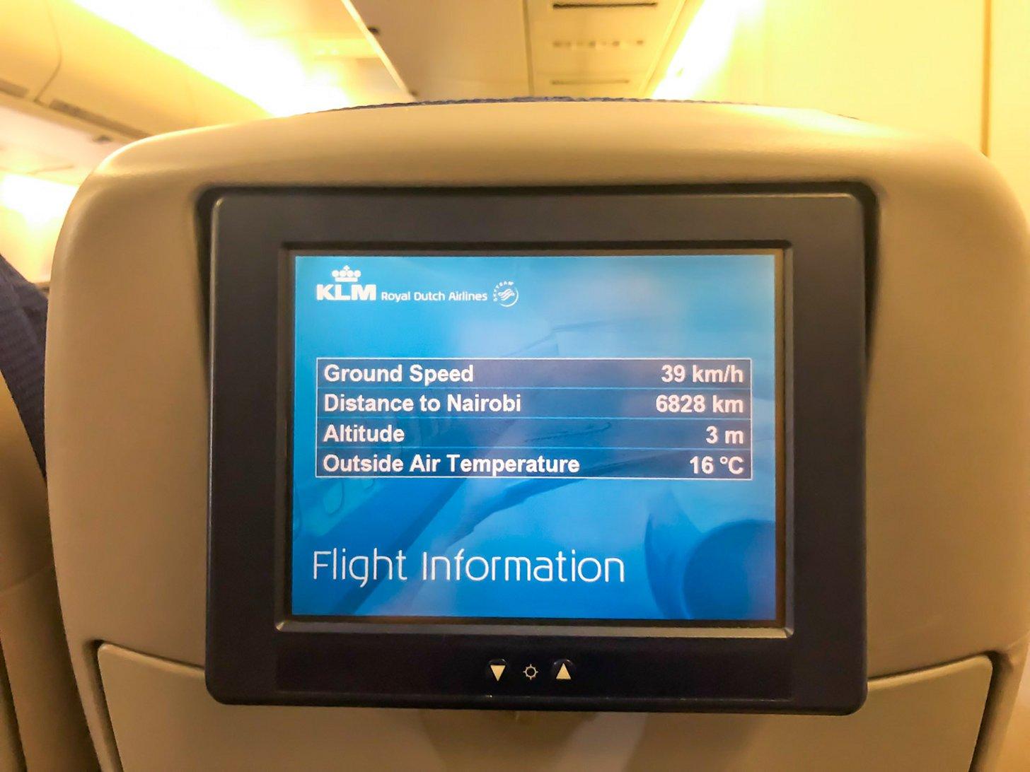 Met KLM kun je van Amsterdam naar Kenia vliegen.
